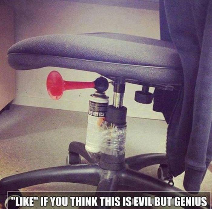 Evil, but genius!