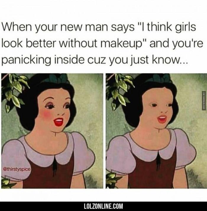 Girls Without Makeup