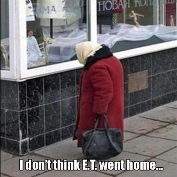 He Never Phoned Home