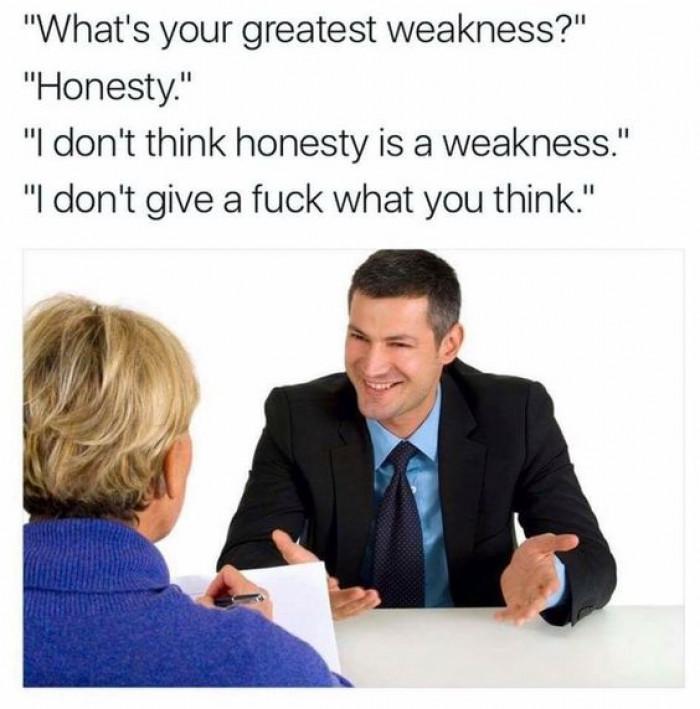 Honessty