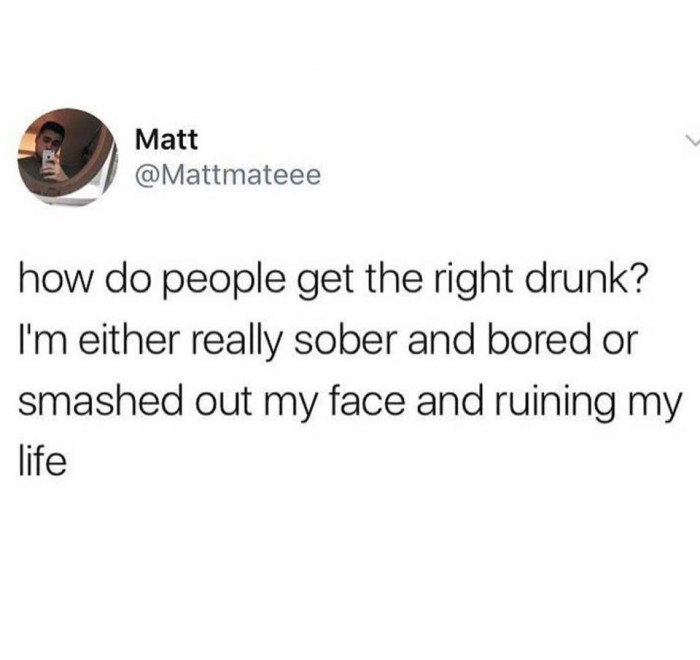 How Do People Get The Right Drunk