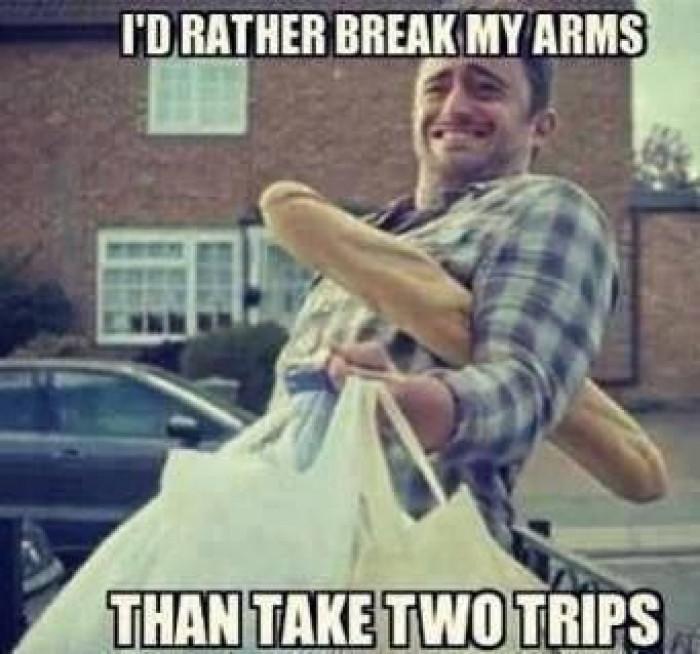 I'd rather take...