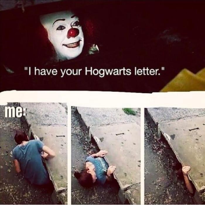 I Have Your Hogwarts Letter...