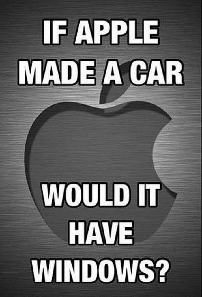 If Apple Made Cars...