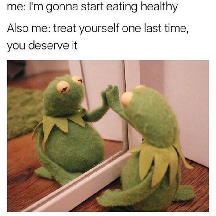 Me To Me Over My Diet
