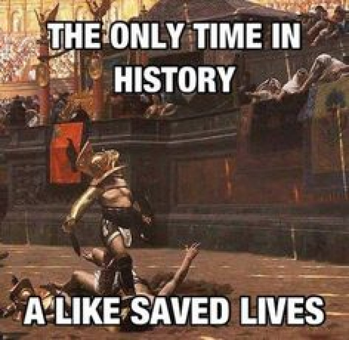 Only time in history