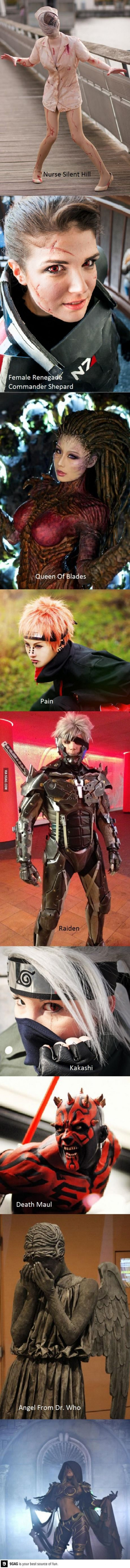 Stunning Cosplays That Will Leave You Wanting More
