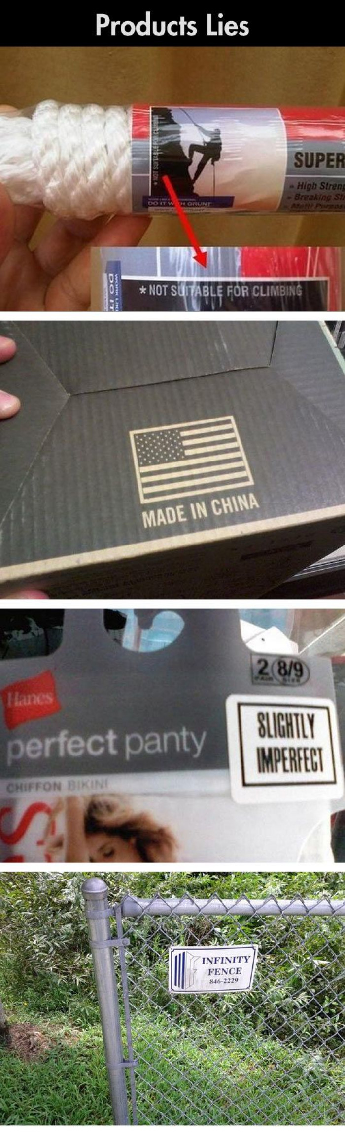 These 4 Funny Product Lies Will Make You Giggle