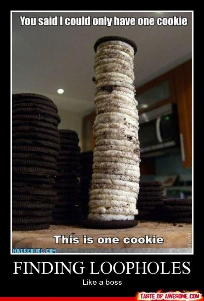 This is one cookie