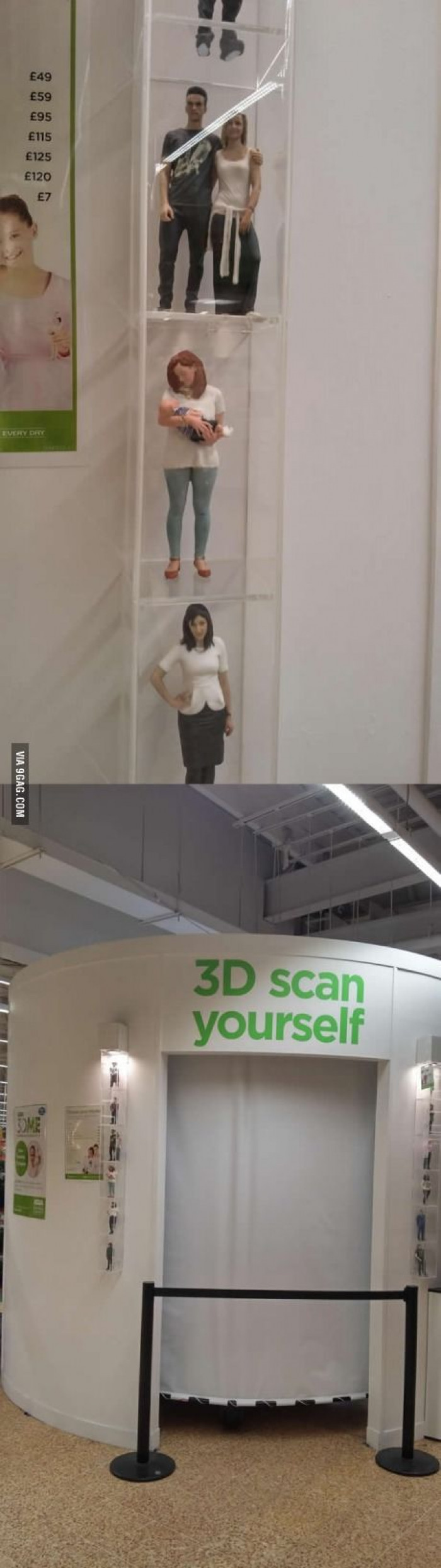 This Supermarket Lets You 3D Print Yourself