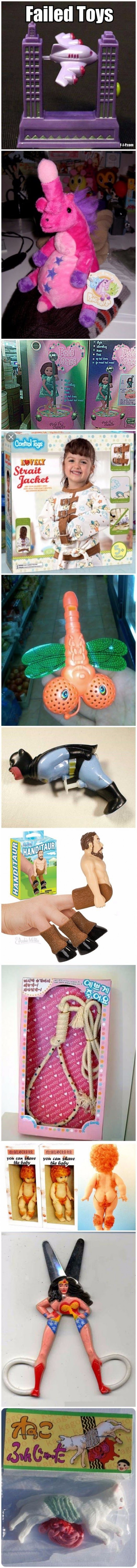 Toys That Totally Failed