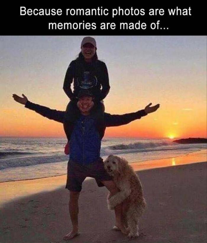 When Romantic Photos Are Life...