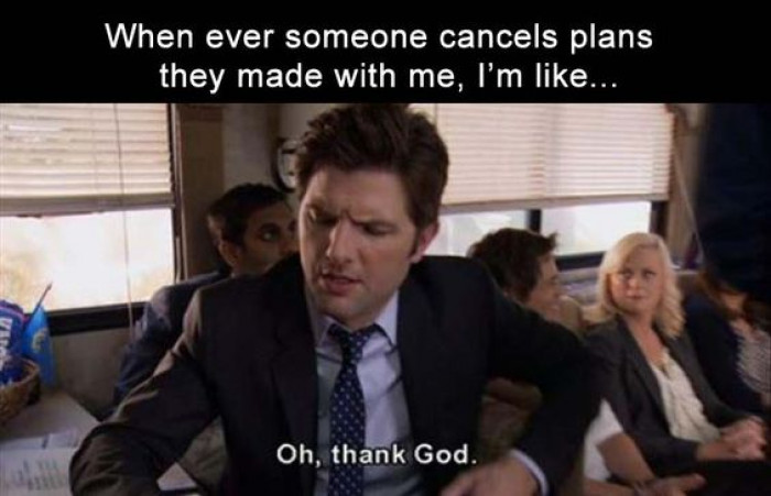 When Someone Cancels Plans