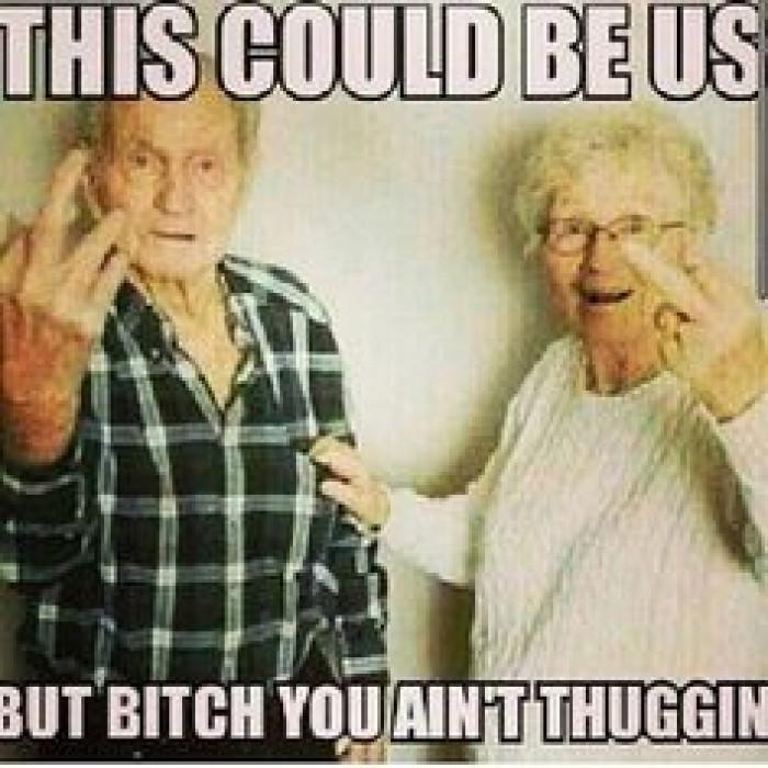 you ain't thuggin