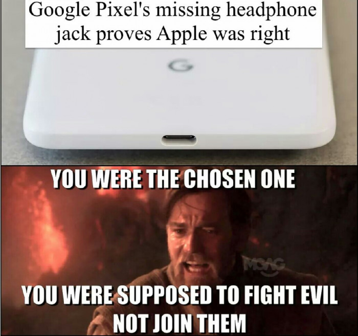 You Were Supposed To Fight The Evil!