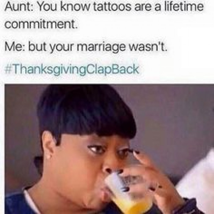 your marriage wasn't