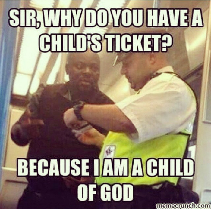 Because I Am A Child Of God