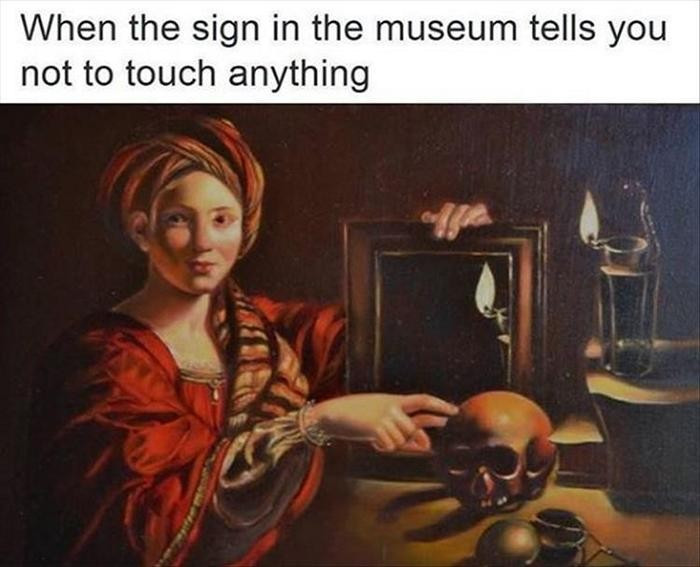 But I Gotta Touch It
