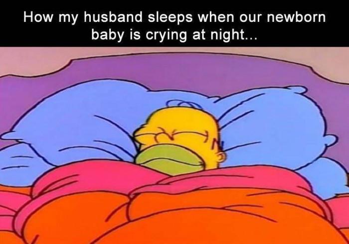 I Wish I Could Sleep Like My Husband Does