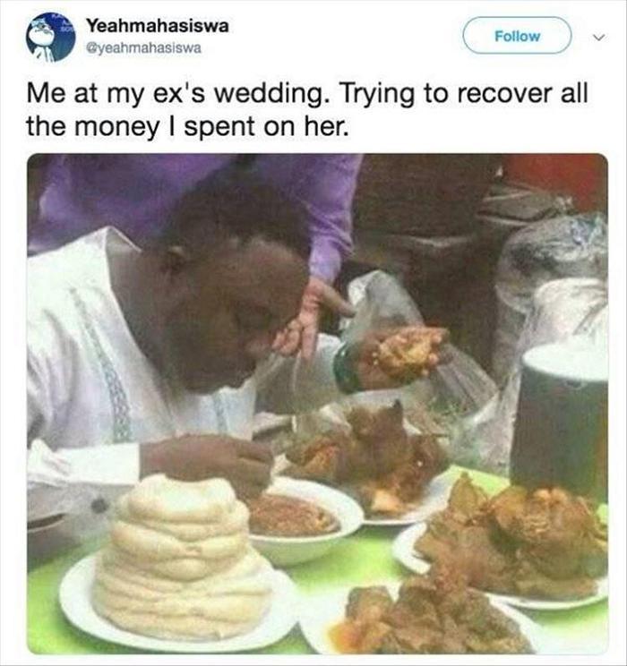 Me At My Ex's Wedding