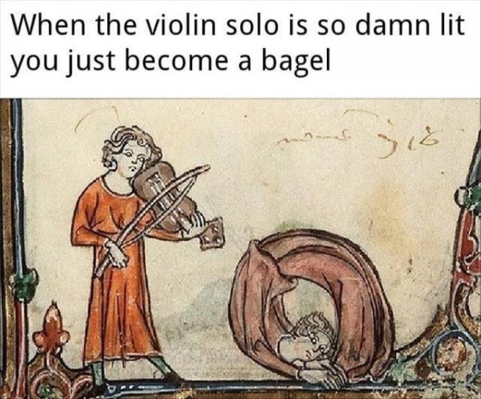 That Violin Solo Though