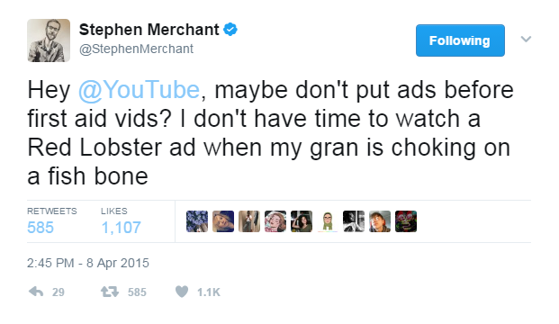 Darn YouTube Ads