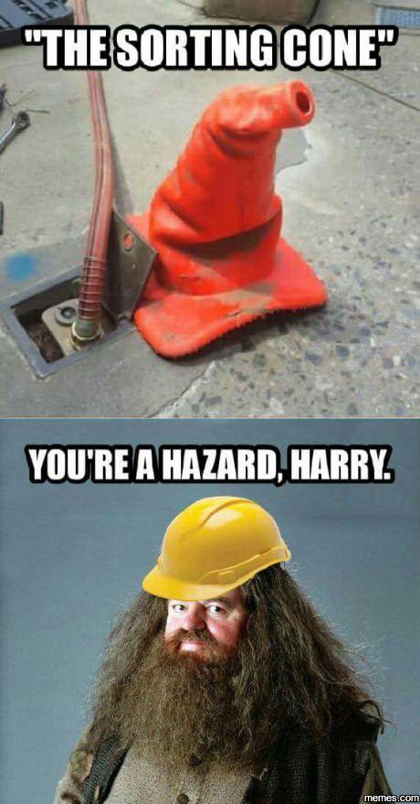 You're a Hazard Harry