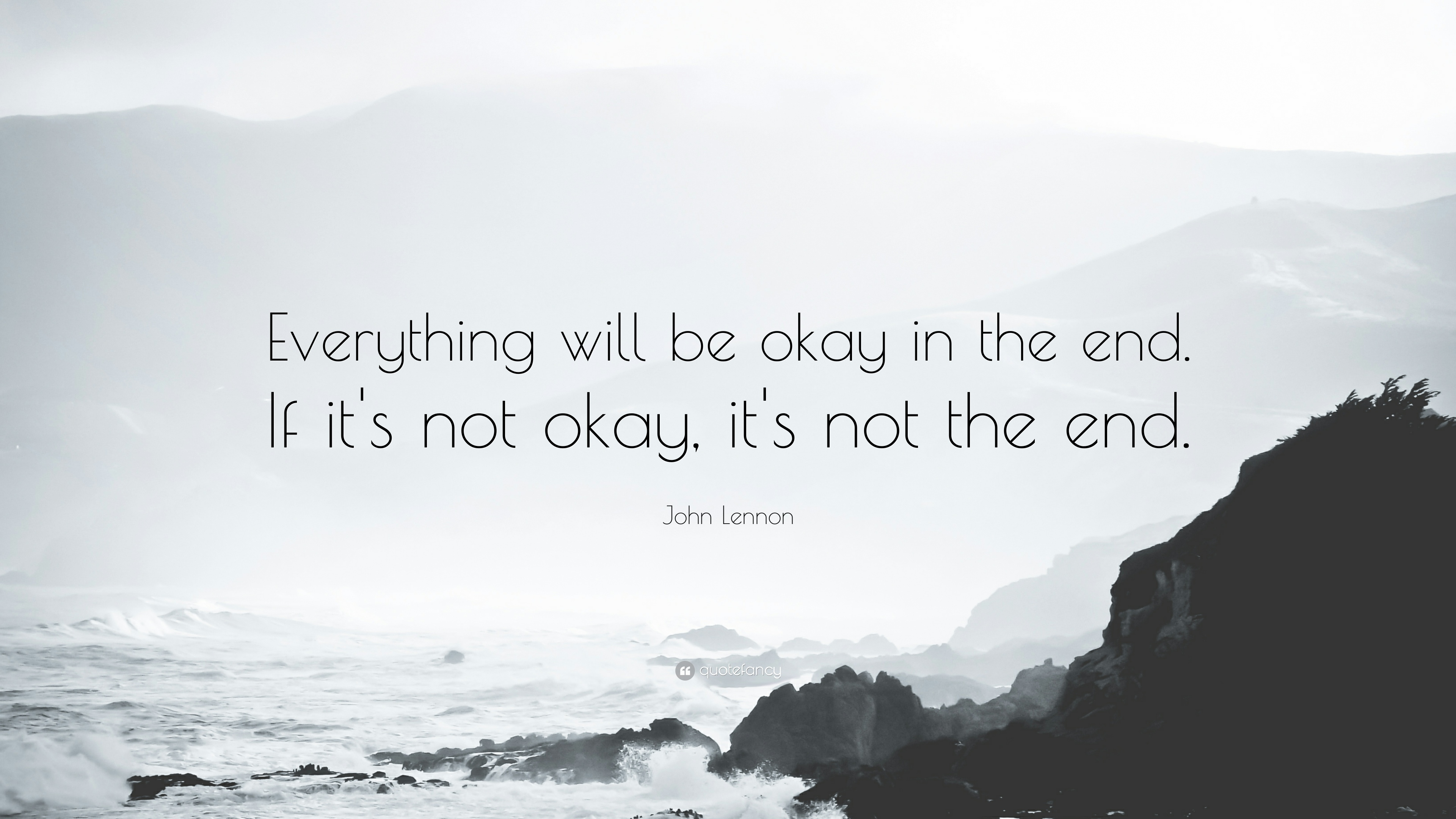 Poster: Everything will be ok in the end