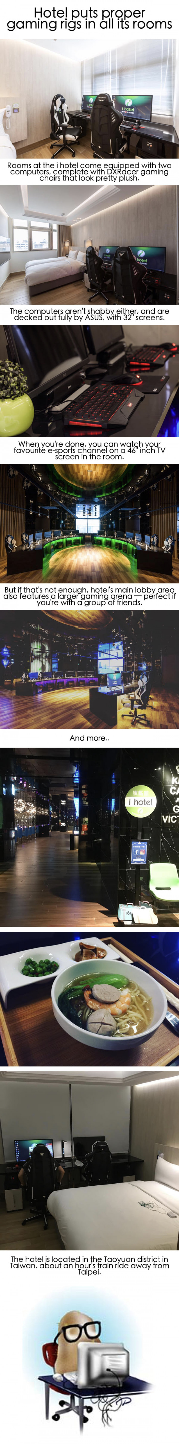 Hotel Puts Gaming Rigs In All Their Rooms