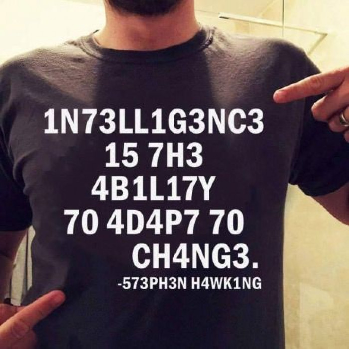 Intelligence Is...
