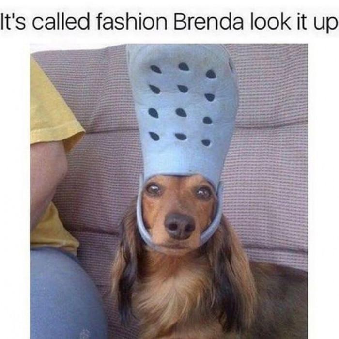 It's called fashion Brenda!