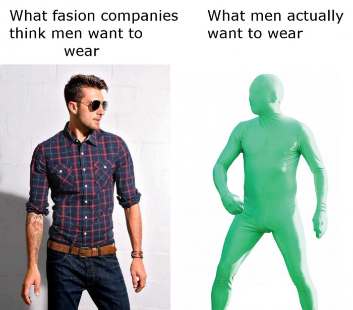 What Men Want To Wear!