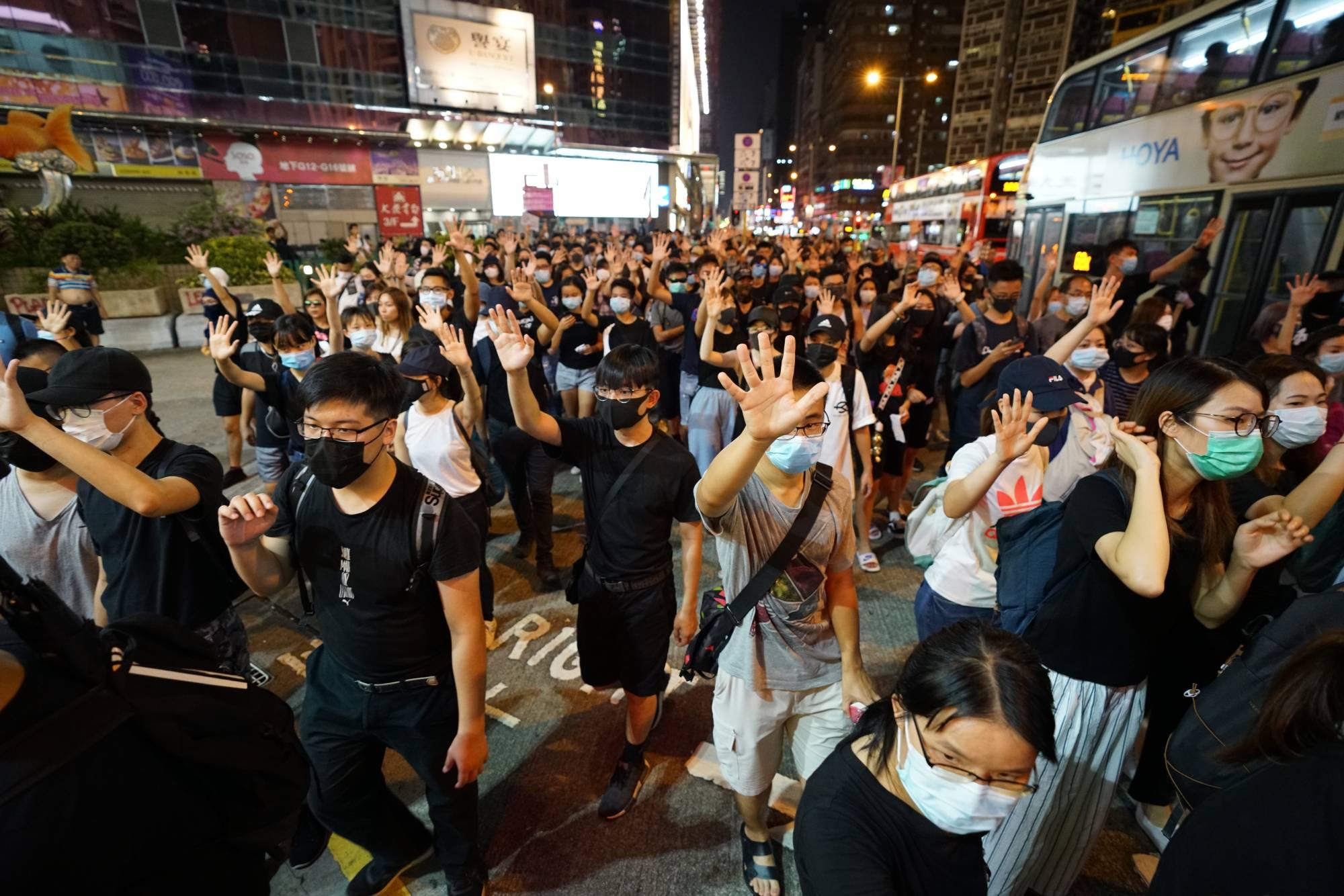 Hong Kong after the mask ban law