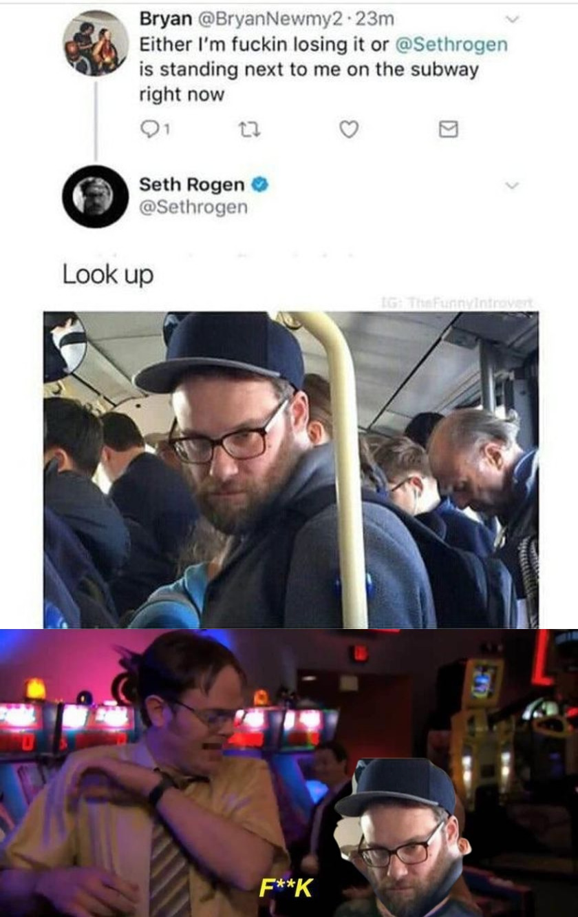 Surprise Seth!