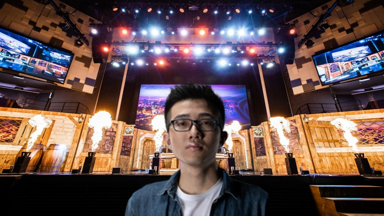"Hearthstone Pro, Ng Wai ""Blitzchung"" Chung, recently banned by Blizzard for expressing support for the Hong Kong protests during a post-game interview"