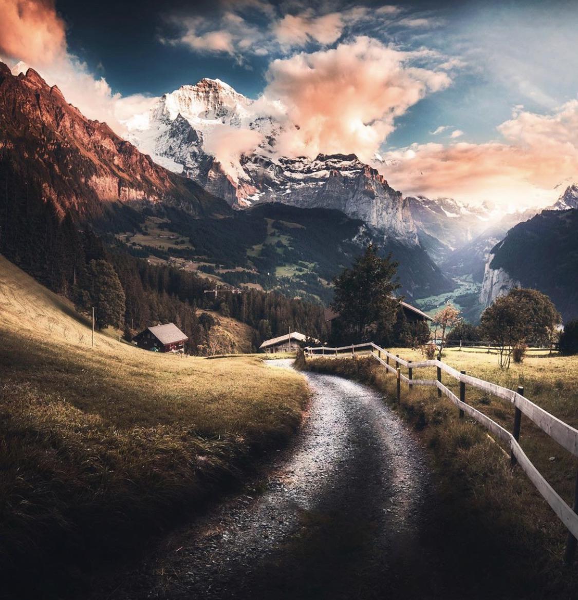 The beauty of Switzerland.