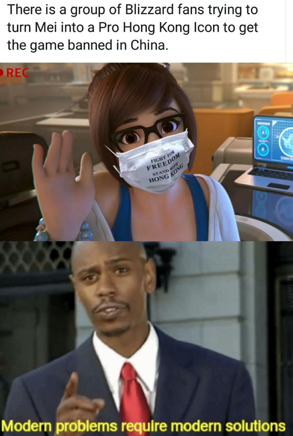 Hey Blizzard, I heard you like China's money ?
