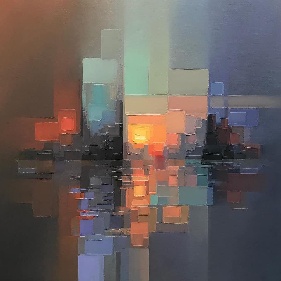 Jason Anderson, urban landscape.