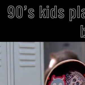 90's Pokemon Kids Playing Pokemon Go