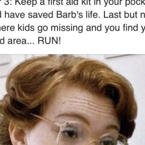 And This Very Heartfelt Ode To Barb