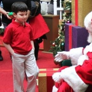 Asking Santa For Dad To Come Home