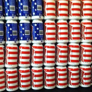 Beer Can Flag Of Freedom