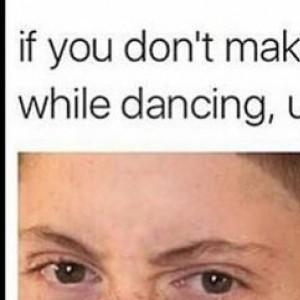 dancing face