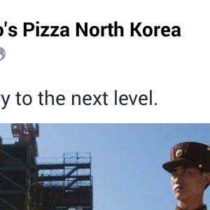 Domino's Pizza North Korea