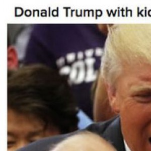 Donald Trump With Kids