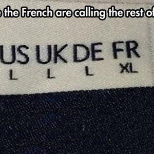 French Shirts Are Like the French Army