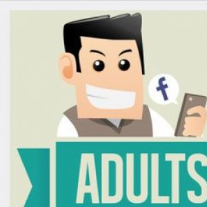How Adults Vs Teens Use Social Media Infographic