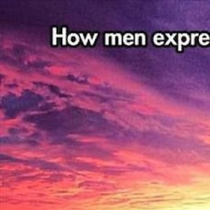 How man express love for each other