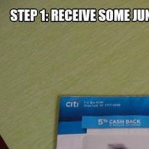 How To Deal With Junk Mail...