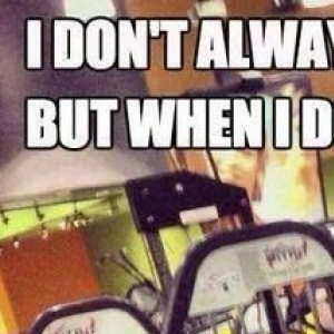 I don't always go to the gym